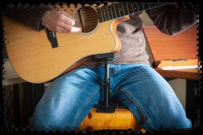 Playing acoustic guitar with Guitar Prop